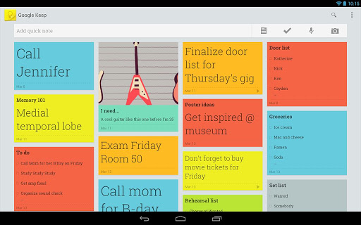 Google-Keep-Tablette