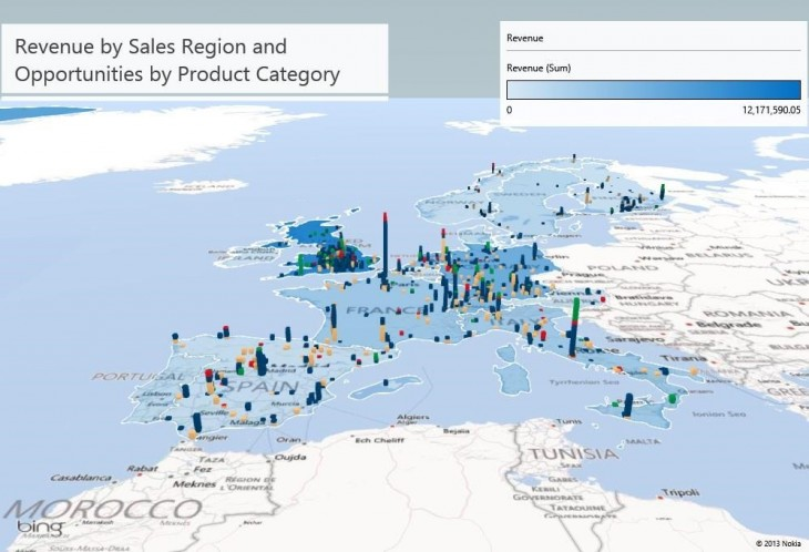 Power-BI_map data