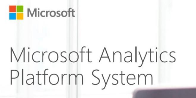 Microsoft Analytics Platform System